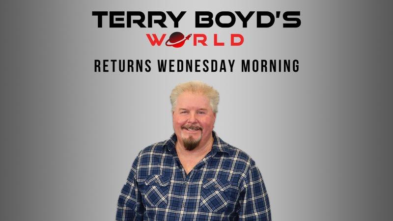 Terry Boyd's World Returns