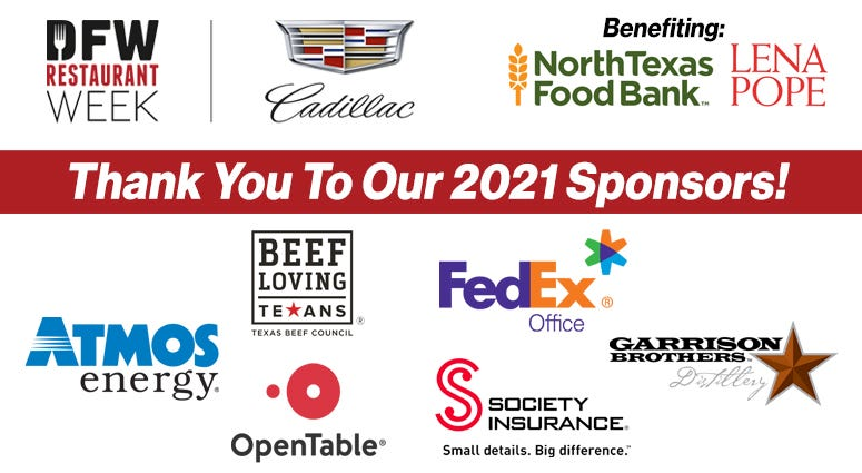 Thank You To Our 2021 Sponsors!