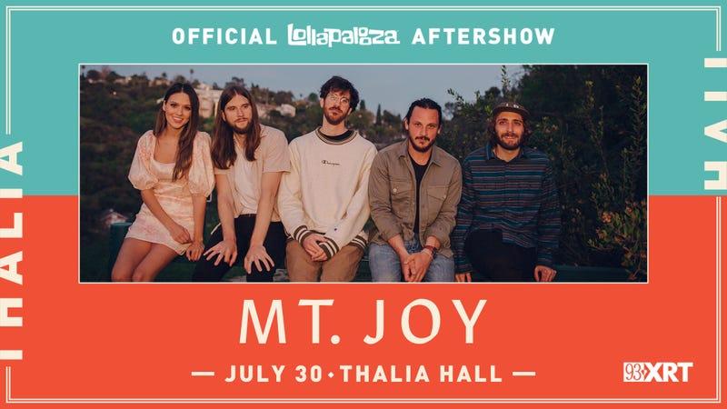 Mt. Joy Lolla Aftershow