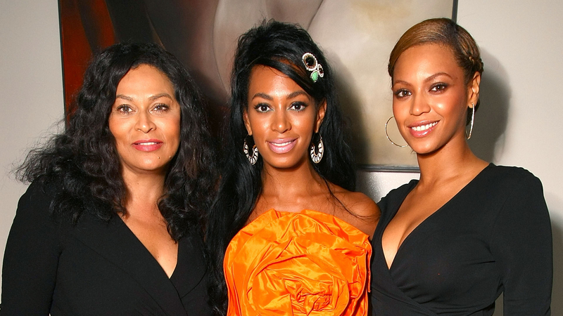 Tina Knowles- Lawson, Beyoncé and Solange Knowles