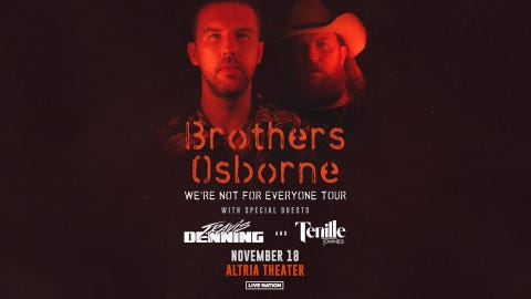 Brothers Osbourne at Altria Theater