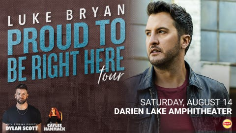 Luke Bryan: Proud To Be Right Here 2021Tour