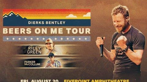 """Dierks Bentley's """"Beers On Me"""" Tour"""