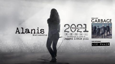 Alanis Morissette - 2021 World Tour
