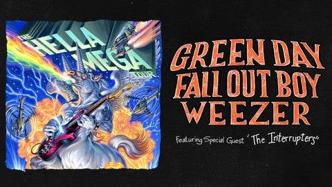Green Day is headlining at Hella Mega Tour!