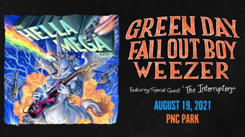 Hella Mega Tour-Green Day/Fall Out Boy/Weezer