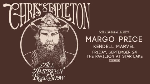 "Chris Stapleton ""All American  Road Show Tour"""