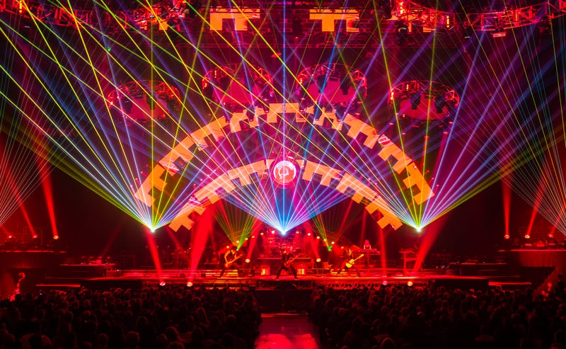 Trans-Siberian Orchestra on stage