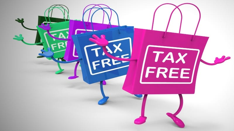 Tax Free   Getty Images