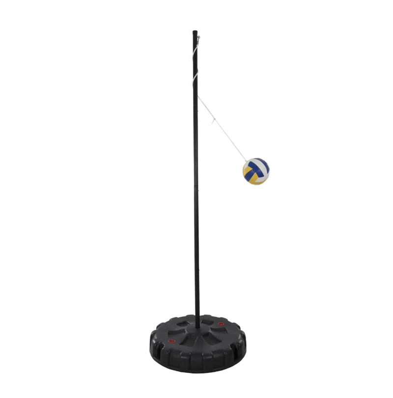 Hey! Play! Portable Tetherball Complete Outdoor Game Set - Black