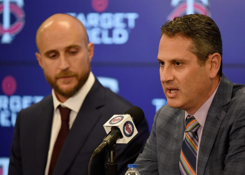 Twins General Manager Thad Levine
