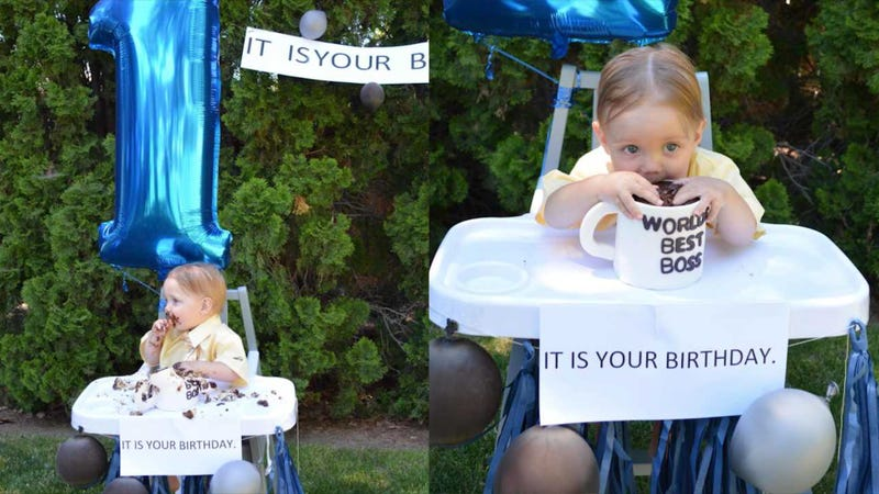 The Office Superfans Throw TV Show Themed Birthday Party For One Year Old Son