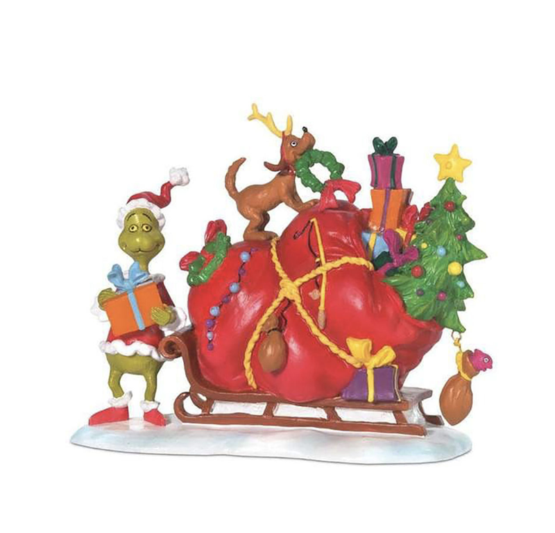 The Grinch's sleigh