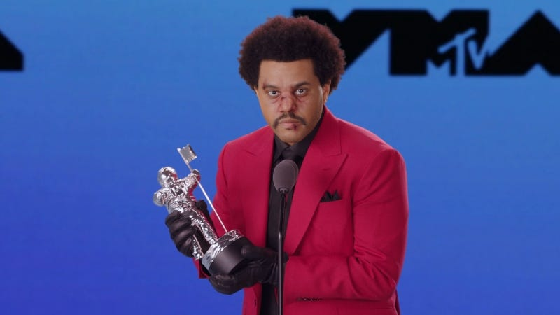 The Weeknd  @ MTV Video Music Awards 2020