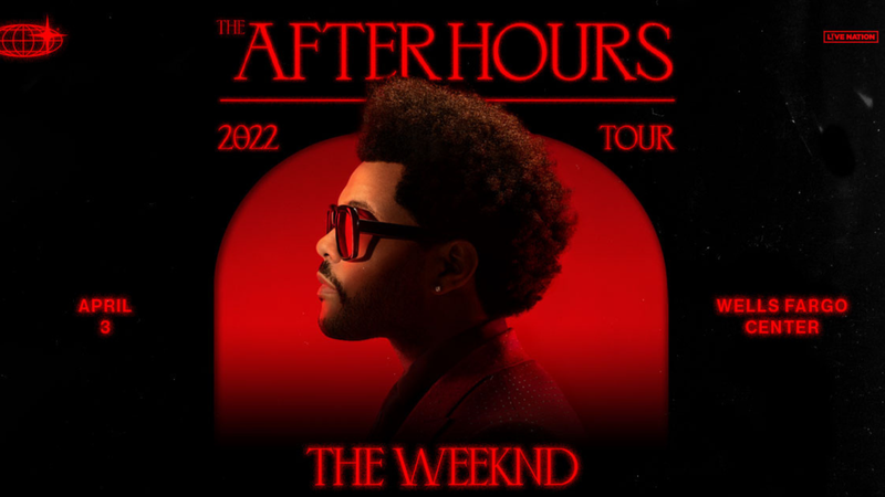 The Weeknd at the Wells Fargo Center