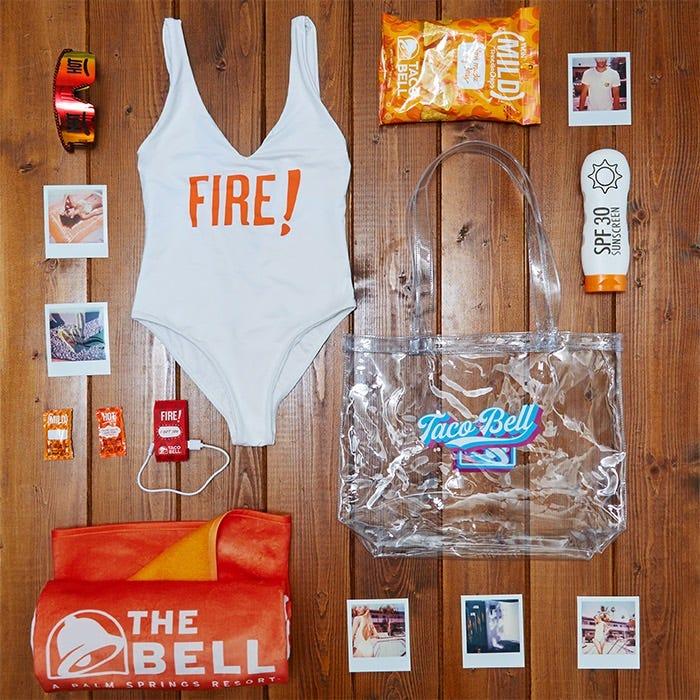 The Bell swimwear line