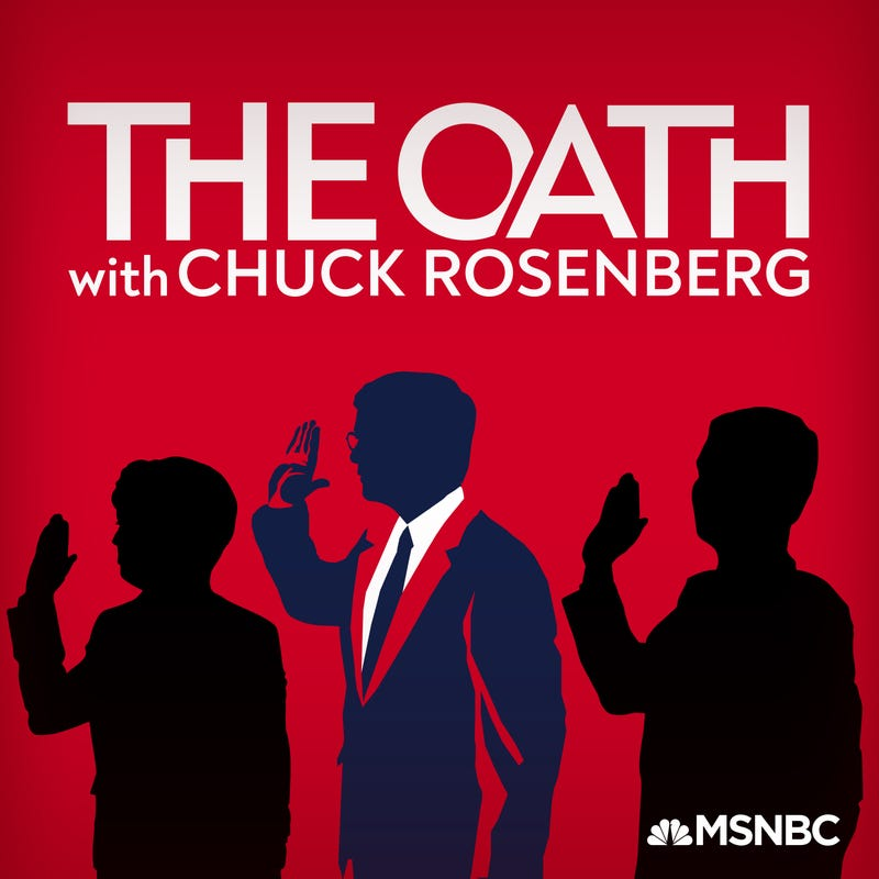The Oath with Chuck Rosenberg podcast