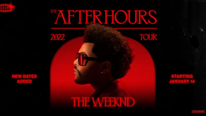 The Weeknd (Rescheduled from 7/2/2021)