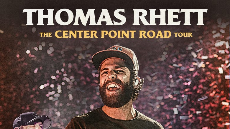 Thomas Rhett: The Center Point Road Tour