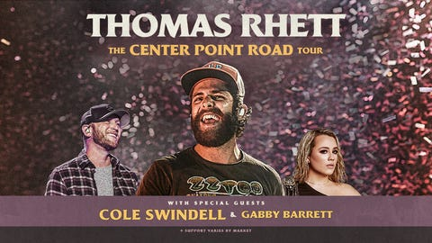 Thomas Rhett - The Center Point Road Tour