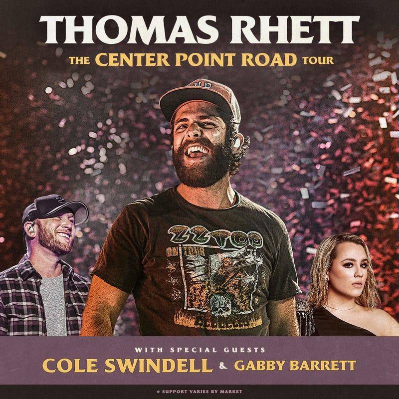Thomas Rhett The Center Point Road Tour