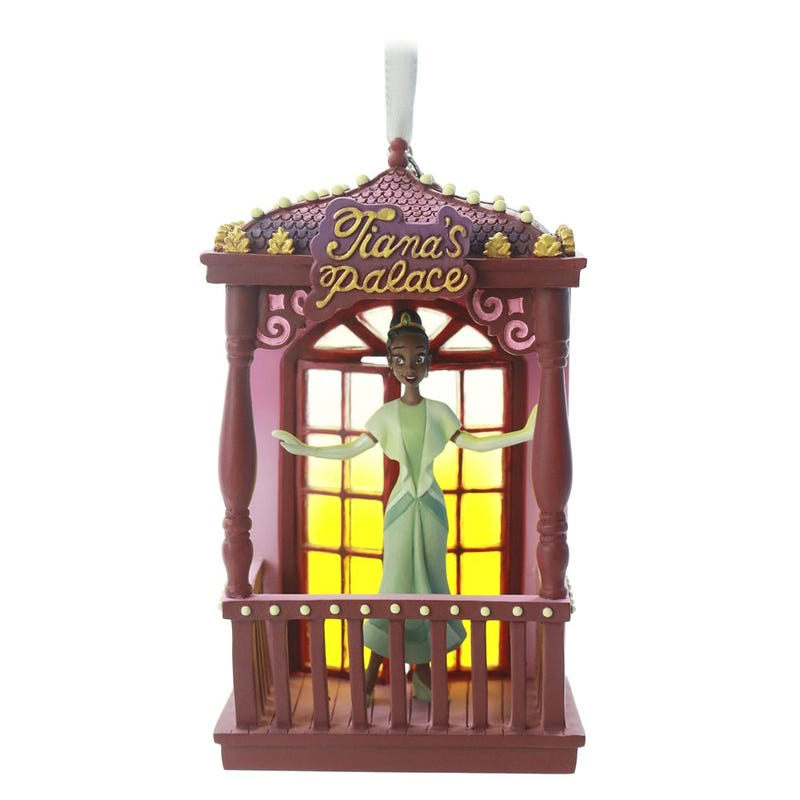 Tiana Fairytale Moments Sketchbook Ornament Disney 2020