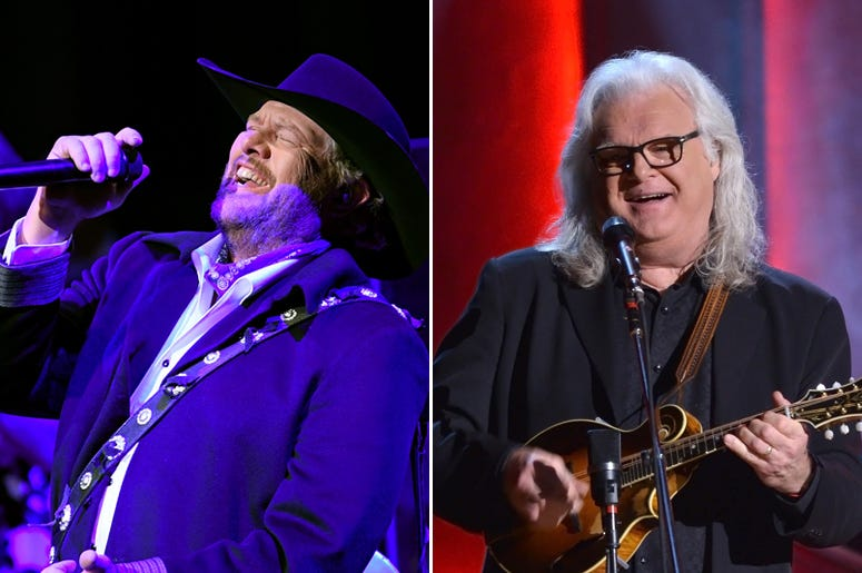 Toby Keith and Ricky Skaggs