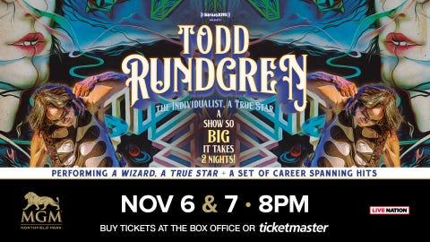 Todd Rundgren The Individualist, A True Star