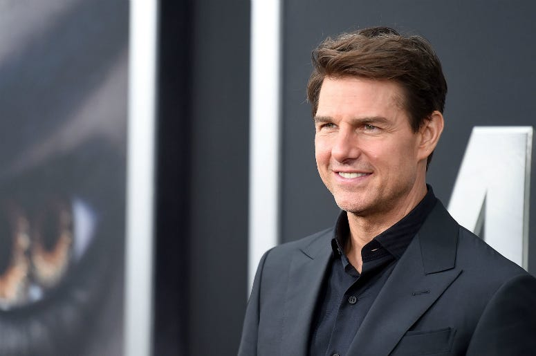 "Tom cruise attends the ""The Mummy"" New York Fan Eventat AMC Loews Lincoln Square on June 6, 2017"
