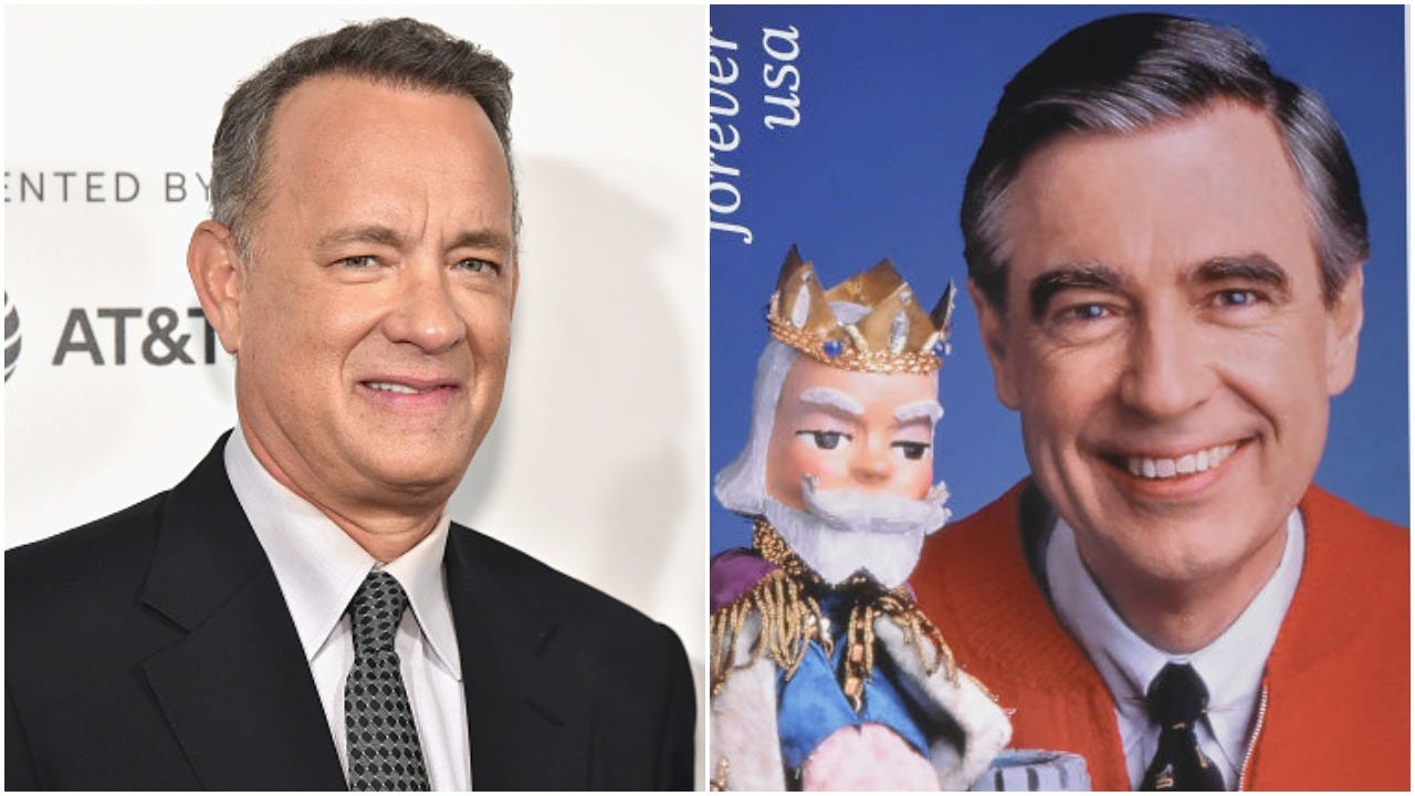 Tom Hanks And Wife Rita Find Out He S Related To Mr Rogers