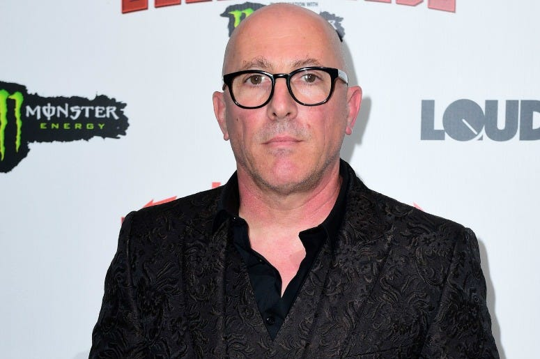 Maynard James Keenan wins the Icon award at the Metal Hammer Golden Gods Awards 2018 held at indigo at The O2 in London.