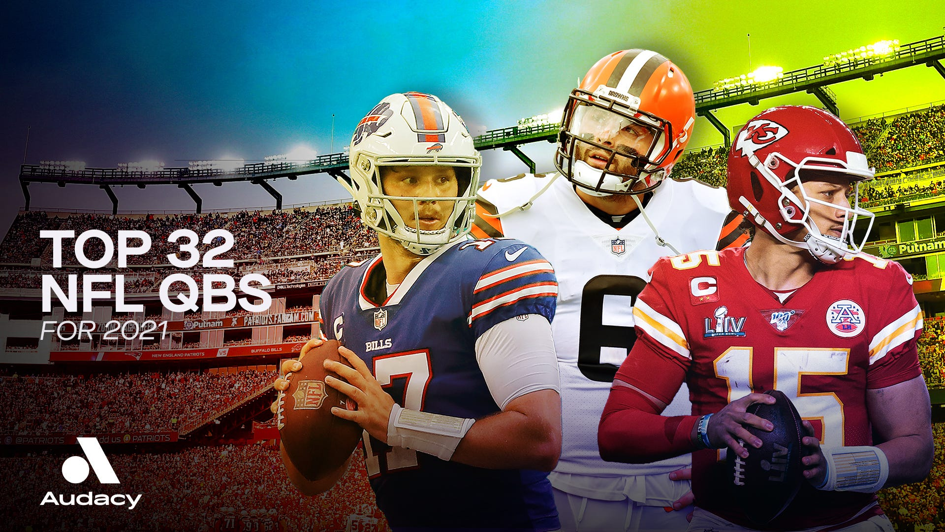 Top 32 NFL quarterbacks for 2021 season, ranked
