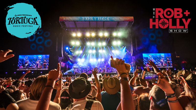 Win a trip to Tortuga Music Festival from Rob + Holly!