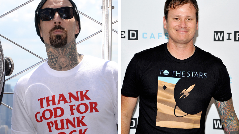 Travis Barker and Tom DeLonge Spent Free Time Looking for Bigfoot and UFOs