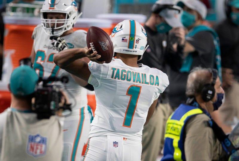 Miami Dolphins QB Tua Tagovailoa