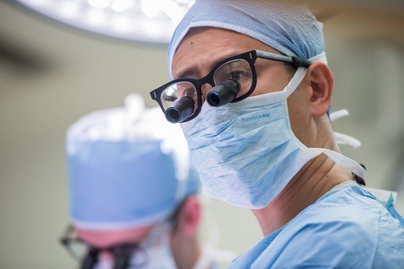 Neurosurgeon Edward Chang performs brain surgery at UCSF.