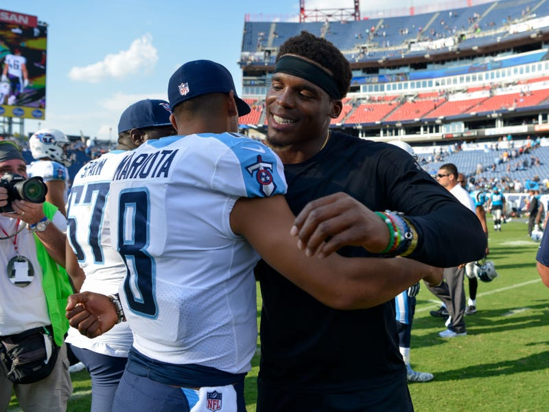 Marcus Mariota and Cam Newton could play for different teams in 2020.