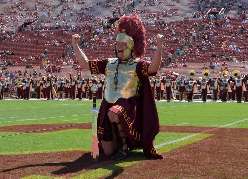 Mascot Tommy Trojan