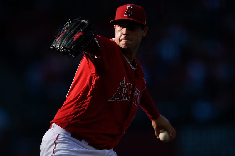 Angels LHP Tyler Skaggs tragically passed away in July.
