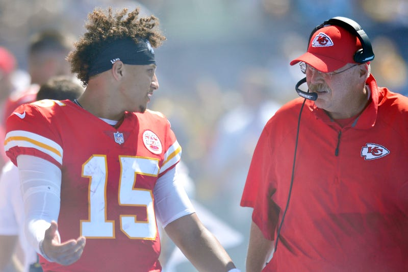 Patrick Mahomes won the NFL MVP in 2018 under Andy Reid's tutelage.