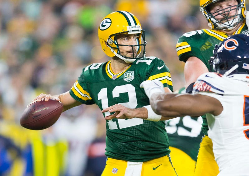 Aaron Rodgers and the Packers will open the 2019 season against the Chicago Bears.