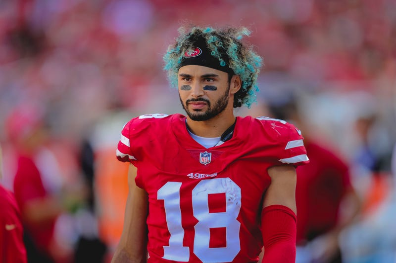 Dante Pettis is entering his second NFL season.
