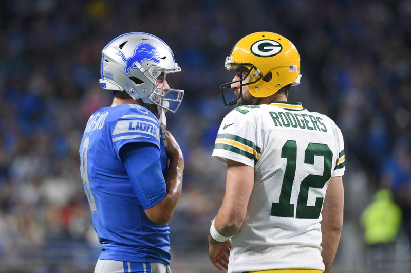 Matthew Stafford and Aaron Rodgers will meet on Monday Night Football.