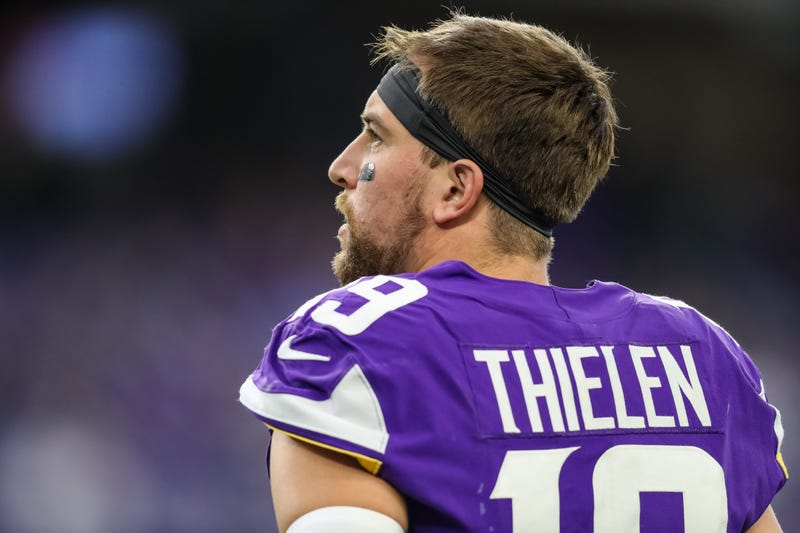 Adam Thielen had 1,373 receiving yards in 2019.