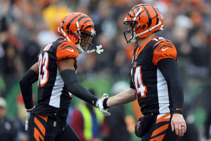 Tyler Boyd (left) figures to become Andy Dalton's favorite target early in 2019.