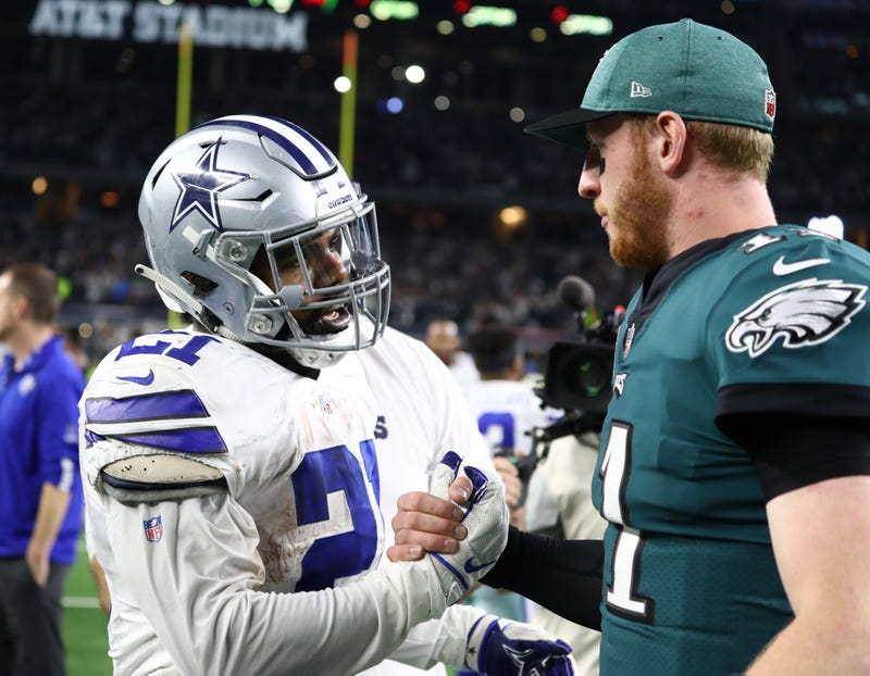 The Cowboys and Eagles will meet in Dallas on Sunday Night Football.