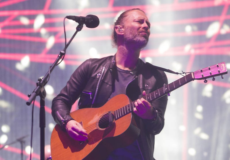 Thom Yorke of Radiohead performs at Coachella in 2017