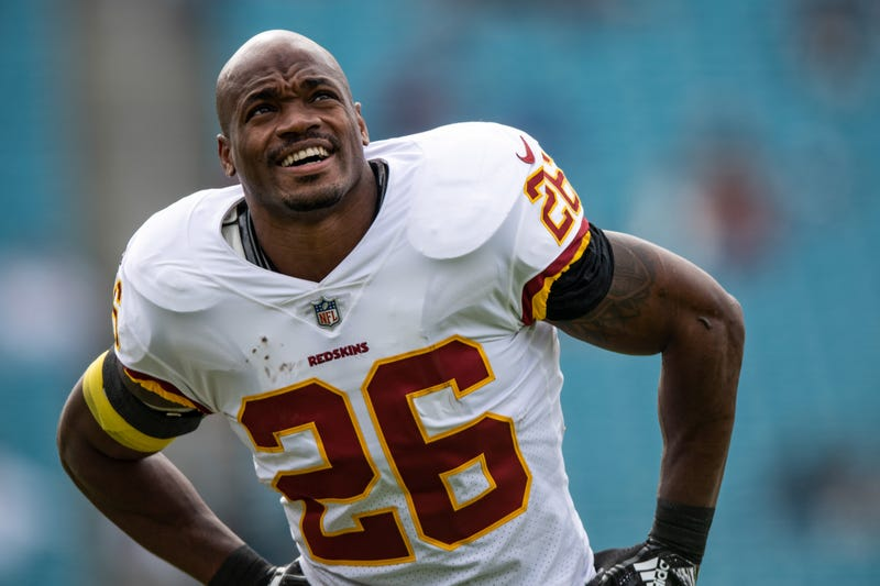 Future Hall of Famer Adrian Peterson is entering his second season with the Redskins.