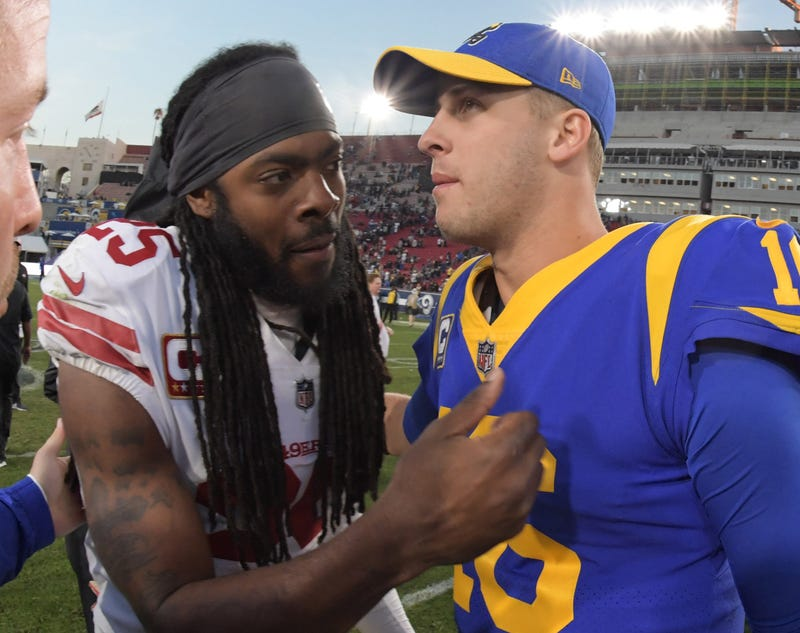 Richard Sherman and the 49ers will square off with Jared Goff and the 49ers in Week 6.