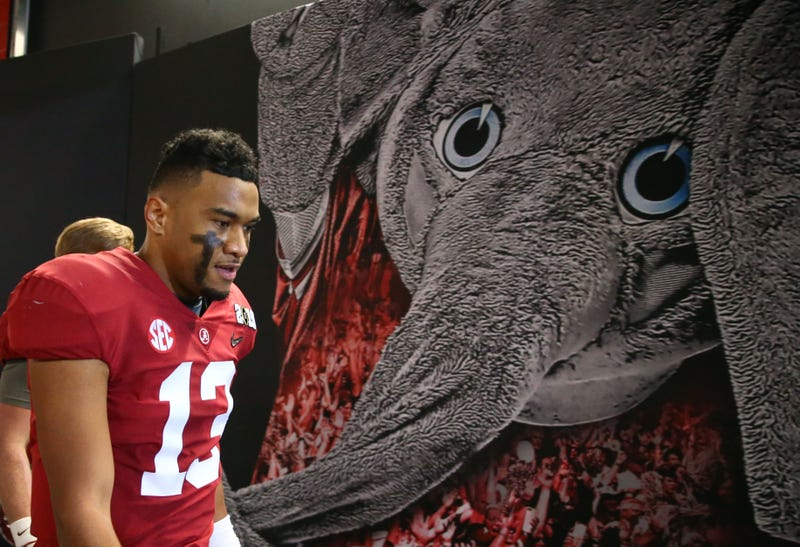 Tua Tagovailoa is expected to be the top quarterback taken in the 2020 NFL Draft.